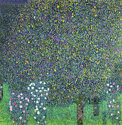 Roses Under the Trees, 1905 | Klimt | Painting Reproduction