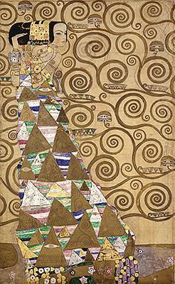 Expectation (Stoclet Frieze), c.1905/06 | Klimt | Painting Reproduction