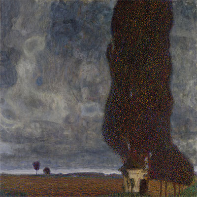 Tall Poplars II (Approaching Thunderstorm), 1903 | Klimt | Painting Reproduction