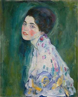 Portrait of a Young Woman, c.1916/17 | Klimt | Painting Reproduction