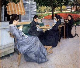 Caillebotte | Portraits in the Countryside, 1876 | Giclée Canvas Print