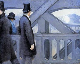 Caillebotte | The Pont de Europe, c.1876/77 | Giclée Canvas Print