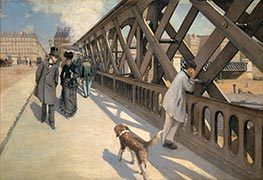 Caillebotte | The Pont de Europe, 1876 | Giclée Canvas Print