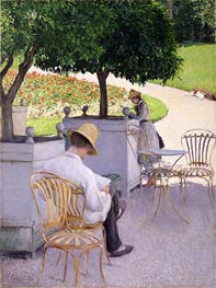 Caillebotte | Orange Trees, 1878 | Giclée Canvas Print