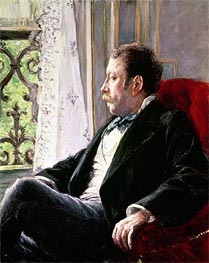Caillebotte | Portrait of a Man | Giclée Canvas Print