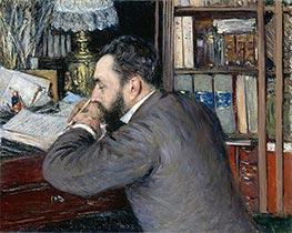 Caillebotte | Portrait of Henri Cordier | Giclée Canvas Print