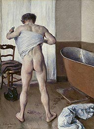 Caillebotte | Man at his Bath | Giclée Canvas Print