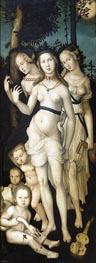Hans Baldung Grien | Harmony (The Three Graces), c.1541/44 | Giclée Canvas Print