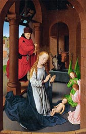 Hans Memling | Nativity, c.1470/72 | Giclée Canvas Print