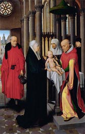 Hans Memling | Presentation in the Temple, c.1470/72 | Giclée Canvas Print