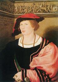 Hans Holbein   Portrait of Benedikt von Hertenstein   Giclée Canvas Print