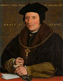 Sir Brian Tuke, c.1527/28 by Hans Holbein | Giclée Canvas Print