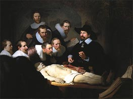 Rembrandt | The Anatomy Lecture of Dr. Nicolaes Tulp, 1632 | Giclée Canvas Print