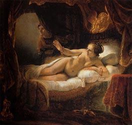 Rembrandt | Danae, 1636 | Giclée Canvas Print