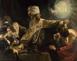 Rembrandt | Belshazzar's Feast, c.1635/38 | Giclée Canvas Print