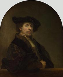 Rembrandt | Self Portrait at the Age of 34, 1640 | Giclée Canvas Print
