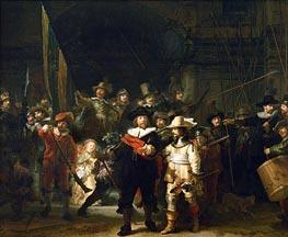 Rembrandt | The Night Watch, 1642 | Giclée Canvas Print