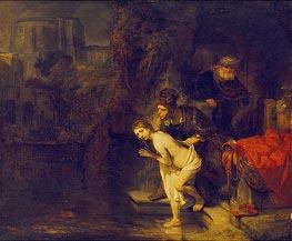 Rembrandt | Suzanna in the Bath | Giclée Canvas Print
