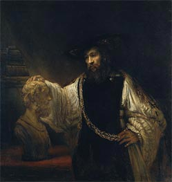 Rembrandt | Aristotle with a Bust of Homer, 1653 | Giclée Canvas Print
