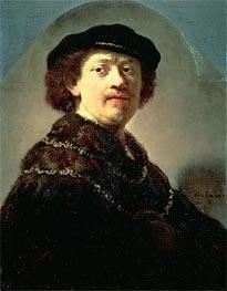 Rembrandt | Self-Portrait in a Black Cap | Giclée Canvas Print