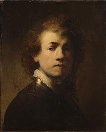 Rembrandt | Self Portrait as a Courtly Squire | Giclée Canvas Print
