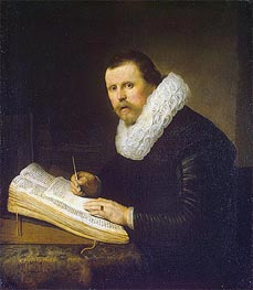 Rembrandt   Portrait of a Scholar   Giclée Canvas Print