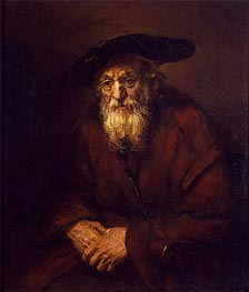 Rembrandt | Portrait of an Old Jew | Giclée Canvas Print