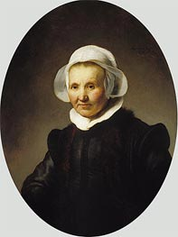 Rembrandt | Portrait of Aeltje Uylenburgh | Giclée Canvas Print