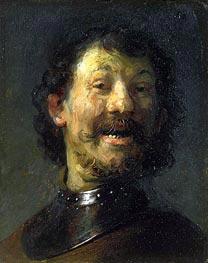 Rembrandt   Smiling Man   Giclée Canvas Print