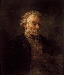 Rembrandt   Portrait of Older Man   Giclée Canvas Print
