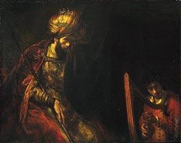 Rembrandt | Saul and David | Giclée Canvas Print