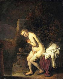 Rembrandt | Susanna | Giclée Canvas Print