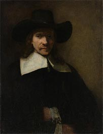 Rembrandt | Portrait of a Man, c.1655/60 | Giclée Canvas Print