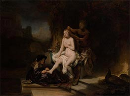 Rembrandt | The Toilet of Bathsheba, 1643 | Giclée Canvas Print