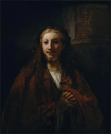 Rembrandt | Christ with a Staff, 1661 | Giclée Canvas Print