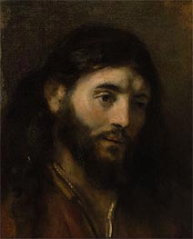 Rembrandt | Head of Christ, Undated | Giclée Canvas Print