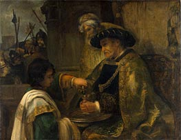 Rembrandt | Pilate Washing His Hands, Undated | Giclée Canvas Print
