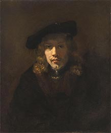 Rembrandt | Man in a Beret, Undated | Giclée Canvas Print