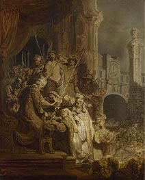 Rembrandt | Ecce Homo, 1634 | Giclée Canvas Print