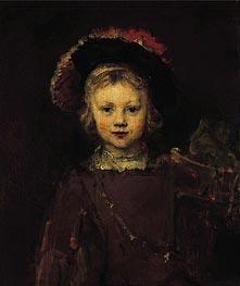 Rembrandt | Portrait of a Boy, c.1655/60 | Giclée Canvas Print