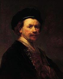 Rembrandt | Self-Portrait, c.1636/38 | Giclée Canvas Print