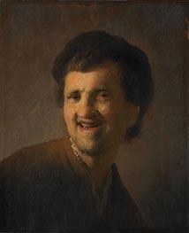 Rembrandt | Laughing Young Man (Self Portrait), 1630 | Giclée Canvas Print