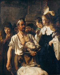 Rembrandt | The Beheading of John the Baptist, 1645 | Giclée Canvas Print