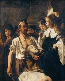 Rembrandt | The Beheading of John the Baptist | Giclée Canvas Print