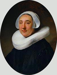 Rembrandt | Portrait of Haesje Jacobsdr of Cleyburg | Giclée Canvas Print
