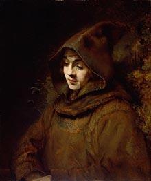 Rembrandt | Titus van Rijn in a Monk's Habit | Giclée Canvas Print