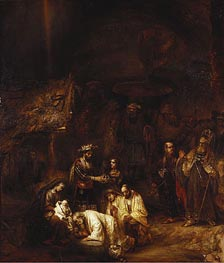 Rembrandt | The Adoration of the Magi, c.1657 | Giclée Canvas Print