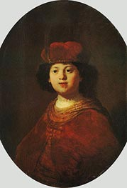 Rembrandt | Portrait of a Boy, c.1633/34 | Giclée Canvas Print