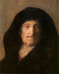 Rembrandt | Portrait of Mother of Rembrandt, c.1630 | Giclée Canvas Print