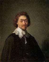 Rembrandt | Portrait of Maurits Huygens, 1632 | Giclée Canvas Print